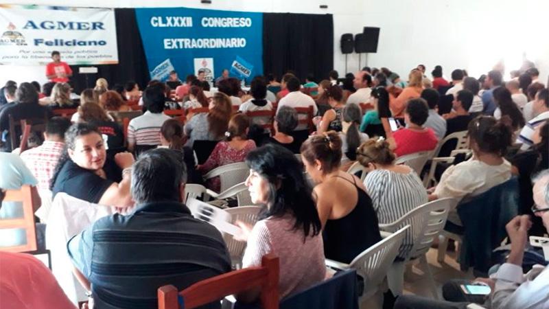 El congreso de Agmer rechazó la propuesta salarial del gobierno
