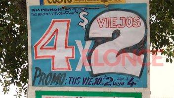 Ingeniosa oferta: Comerciante acepta los billetes de $2 por el doble de su valor