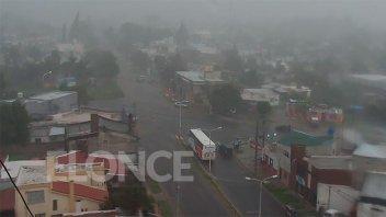 Alerta por tormentas fuertes: Llueve en varias zonas de Entre Ríos