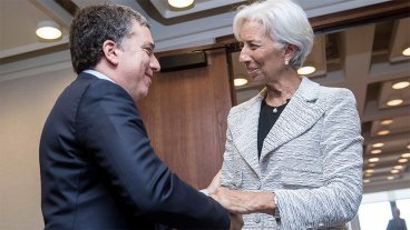 Dujovne y Lagarde anunciarán el acuerdo de Argentina con el FMI