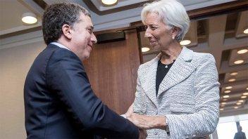 Dujovne se reúne con Lagarde  y el secretario del Tesoro norteamericano
