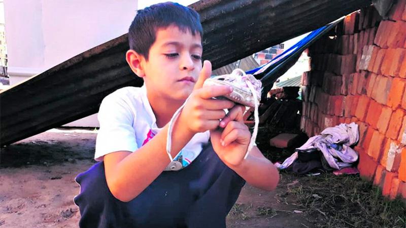 Leonel, un héroe de 8 años