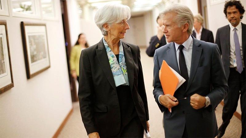Macri acuerdo con el FMI