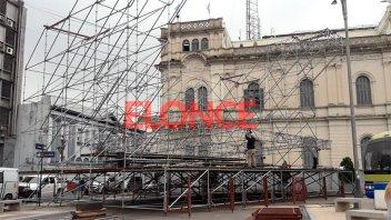 Arman el escenario para Los Palmeras y la Filarmónica: Se verá por Elonce TV