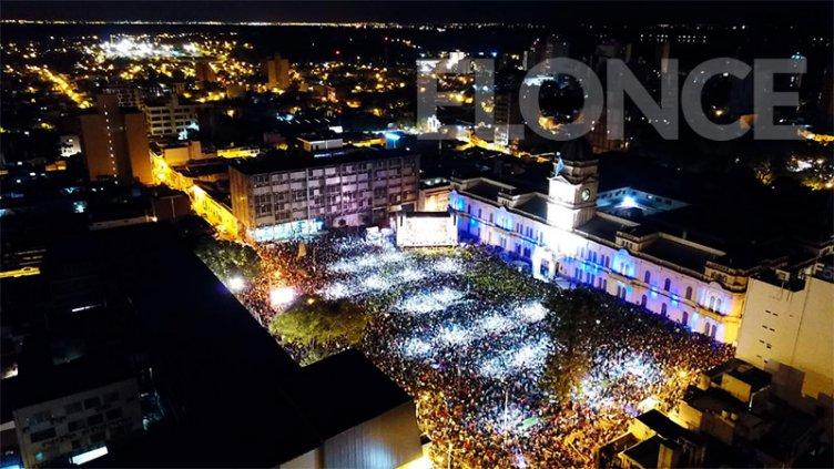 Inolvidable fiesta popular en Paraná