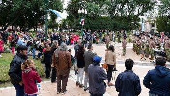 Concepción del Uruguay recordó el bicentenario de la invasión portuguesa
