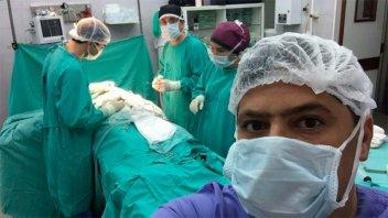 Un niño epiléptico fue sometido a una operación inédita en sanatorio entrerriano