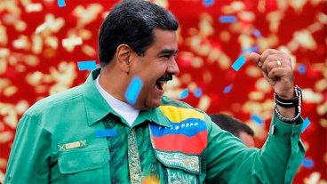 Maduro proclamó su reelección en Venezuela con