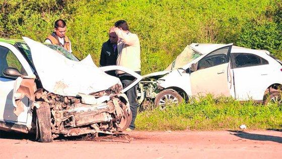 Cinco muertos como saldo de dos tremendos choques en la Ruta 9