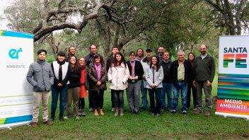 Se reunió el comité para manejo sustentable del sitio Ramsar Delta del Paraná