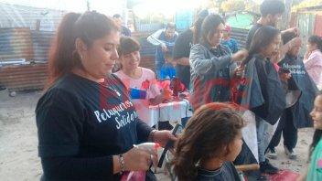 Peluqueros Solidarios celebrará el Día del Niño en barrio El Pozo de Paraná