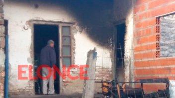Mujer perdió todo en voraz incendio y pide ayuda para reconstruir una pieza