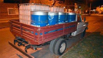 Intentaron comprar 800 litros de Gasoil con cheques robados en Santa Fe