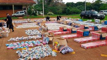 La PSA incautó mercadería de contrabando valuada en más de $ 1 millón
