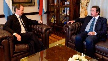 Bordet y el presidente del STJ definen obras y servicios para el Poder Judicial