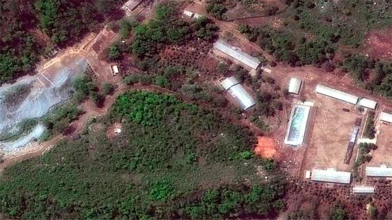 Corea del Norte destruyó con explosivos centro de pruebas nucleares [FOTOS]
