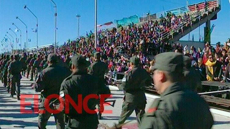 Fiesta Patria por el 25 de mayo en Gualeguaychú desde el Corsódromo