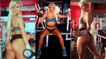 Sol Pérez calentó las redes con fotos y videos hot de su rutina de ejercicios