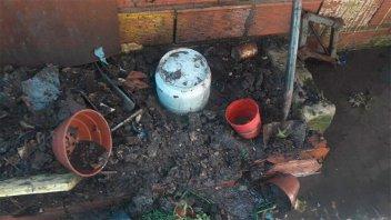 Pudo ser una tragedia: Sufrieron graves quemaduras al manipular una garrafa