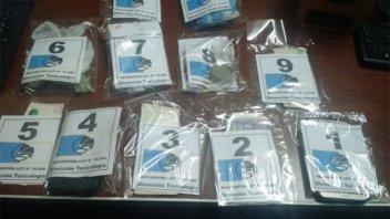 Allanamientos en Paraná y Tala: Secuestraron droga, dinero, autos y celulares