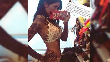 Cande Tinelli  publicó fotos en lencería y recibió críticas