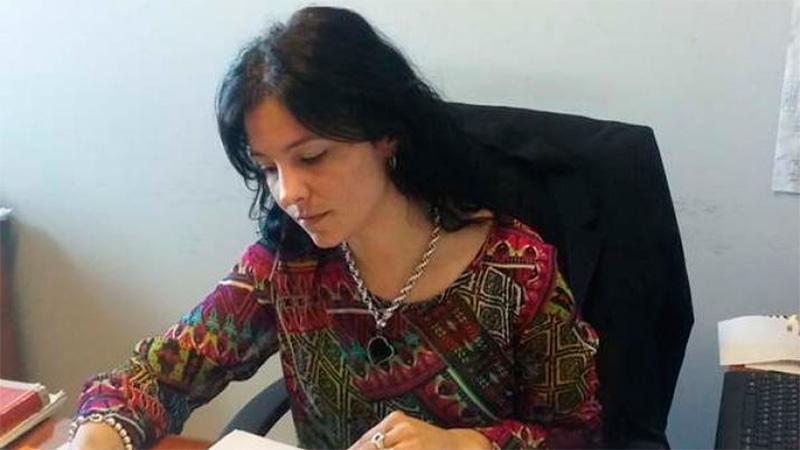Cecilia Rímini comanda la causa.