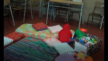 Escuela Alem creo una sala blanda para hijos de alumnos del establecimiento