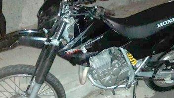 Murió un joven motociclista que chocó con otra moto que iba haciendo