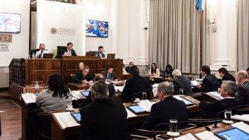 Senado aprobó pliegos de las funcionarias del CGE, Marta Landó y Marisa Mazza