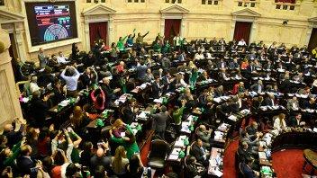 Diputados dieron media sanción a la despenalización del aborto