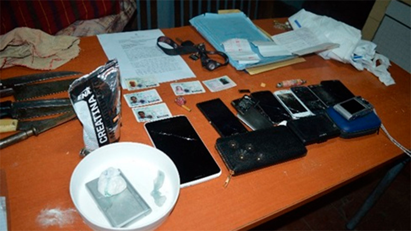Incautaron droga e importante suma de dinero en operativos: Hay cinco detenidos