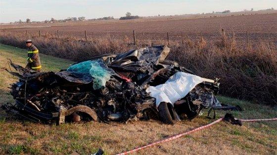 Un papá y sus dos hijas: Identificaron a las víctimas de tremendo accidente