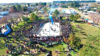 Gualeguaychú celebrará el Día de la Bandera en Plaza Belgrano
