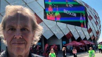 Gonzalo Bonadeo fue agredido por hinchas argentinos en Rusia