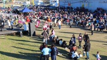 El Festival del Mate de Té reunió a una multitud en la estación de San José
