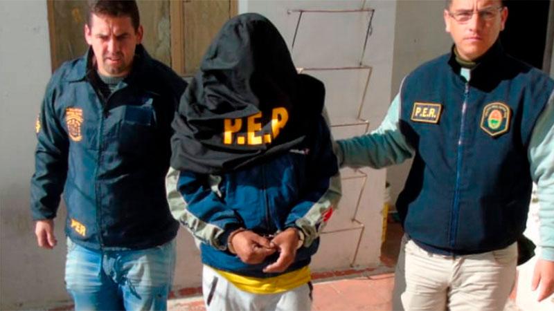 Uno de los detenidos por el crimen de Rolón