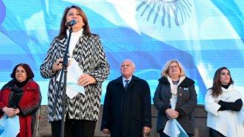 Intendenta de Rosario lamentó la ausencia de Macri: