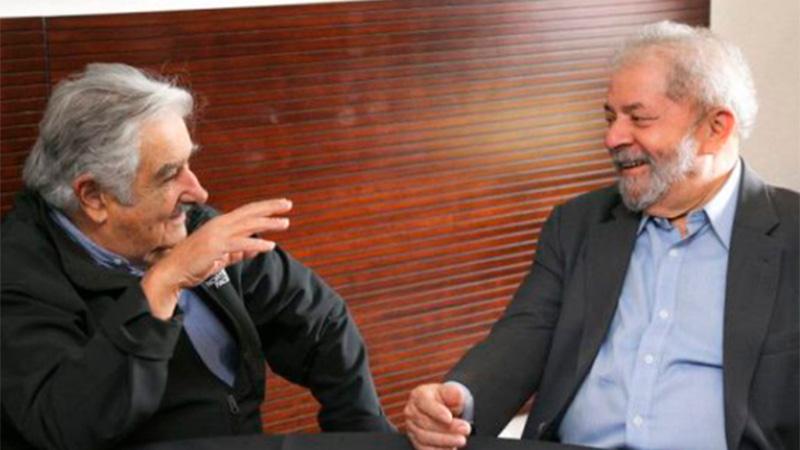 Encontré a Lula preocupado por el destino de Brasil: Mujica