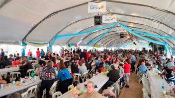 Preparan la tercera Fiesta Regional del Locro en Oro Verde