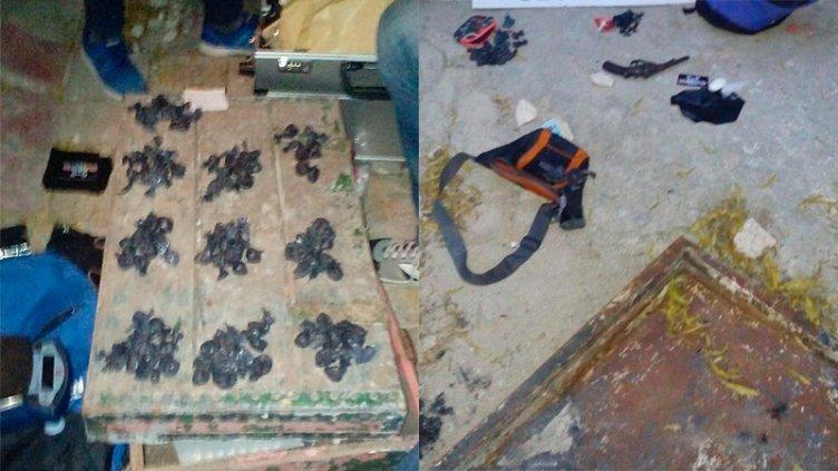 Incautaron droga, un arma y detuvieron a una persona en Paraná