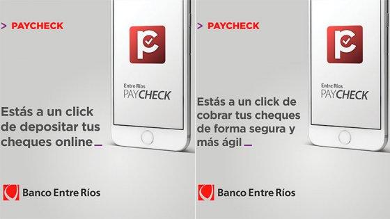 Más de 1.500 empresas entrerrianas depositan y negocian cheques con el celular