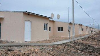 Trabajan en la ejecución de nuevas viviendas para Concepción del Uruguay
