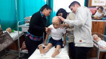UADER: Inauguraron un centro educativo para el campo de la salud