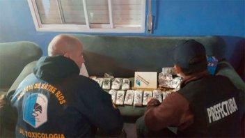 Secuestran u$s 200 mil dólares en Entre Ríos de banda narco internacional