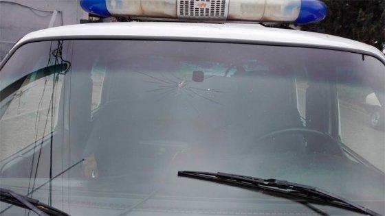 Apedrearon a policías para impedir la detención de malviviente en La Milagrosa