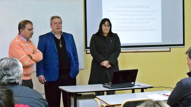 La provinca brindó capacitaciones sobre gestión ambiental a los municipios