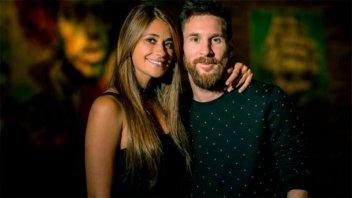 El tierno mensaje de Antonela Roccuzzo a Messi por su cumpleaños