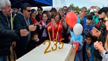 Concepción del Uruguay festejó su aniversario Nº 235