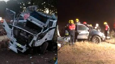 Videos: Camionero entrerriano protagonizó fatal accidente sobre ruta bonaerense