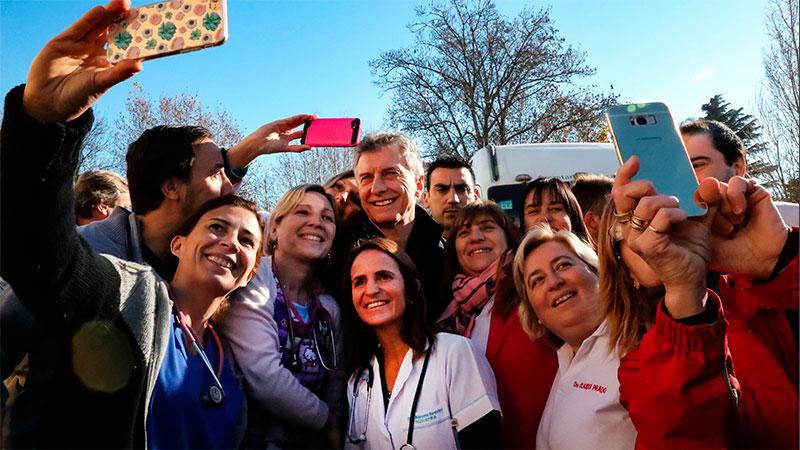 Macri cuestionó a los gremialistas por el paro